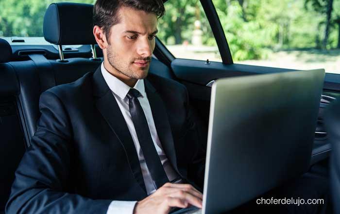 contratar un chófer privado