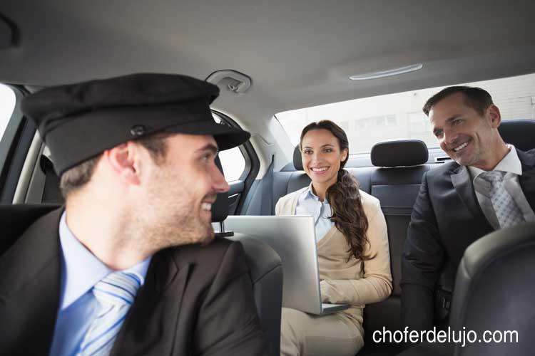 alquiler de coches con chófer en Madrid