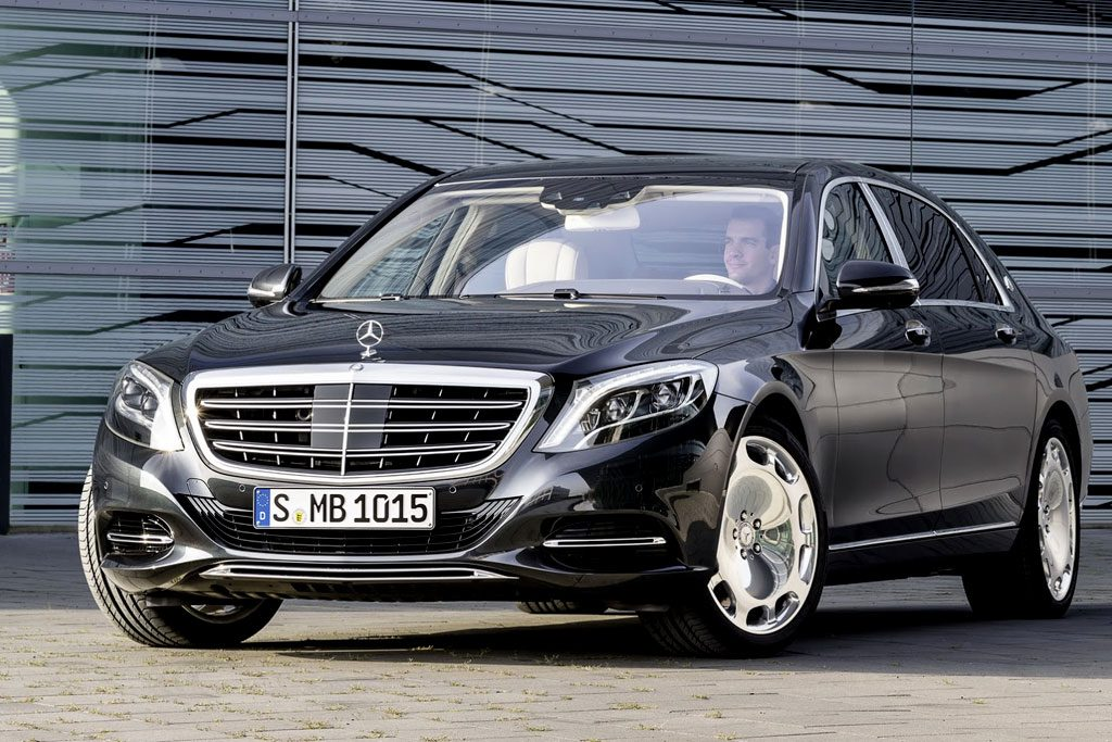 Mercedes Benz Clase S500 Maybach