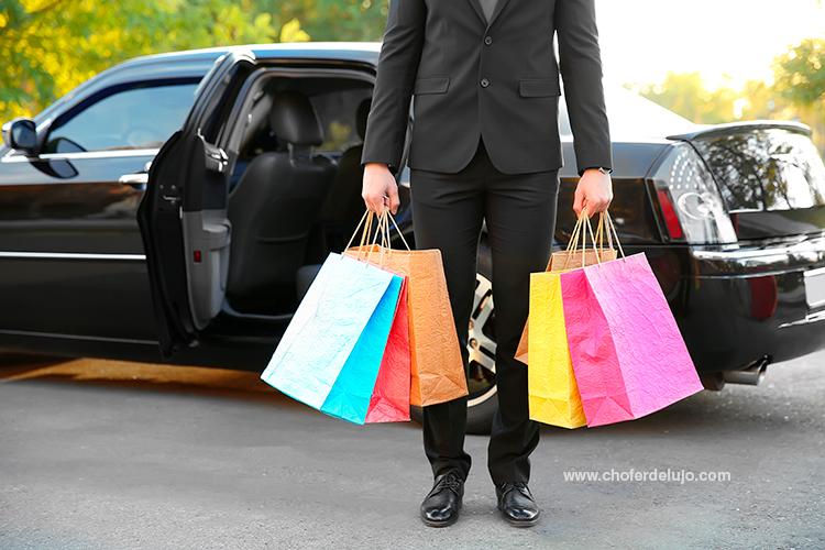 compras por madrid con chofer de lujo