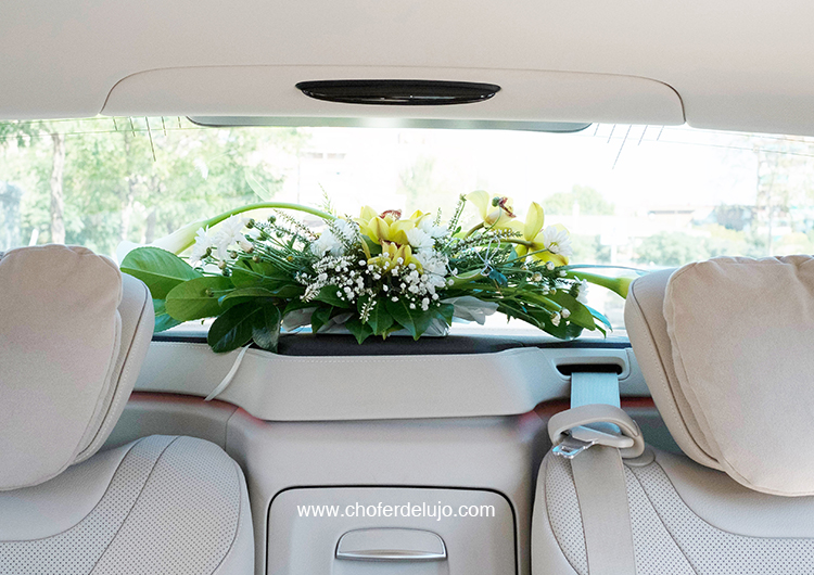 alquiler de coches con conductor para bodas