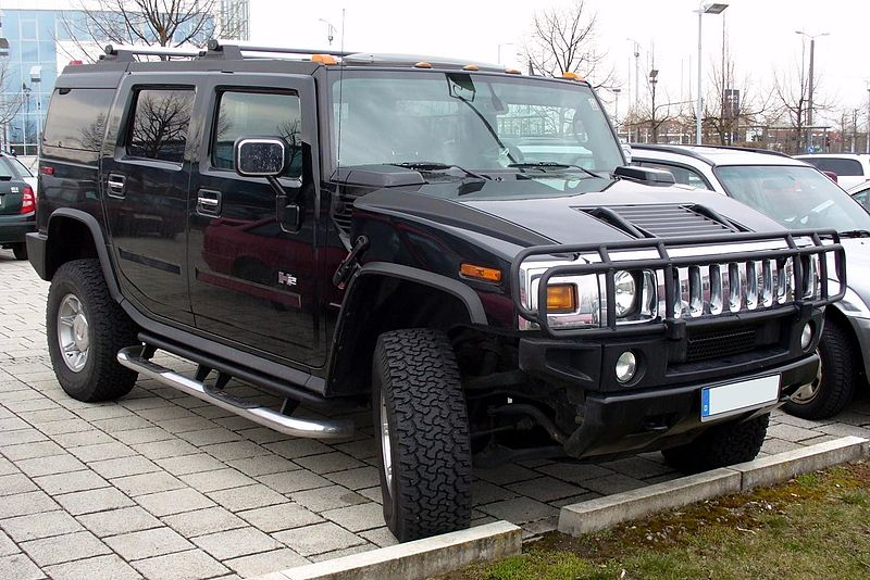 Precio alquiler coche para boda en Madrid. Hummer.