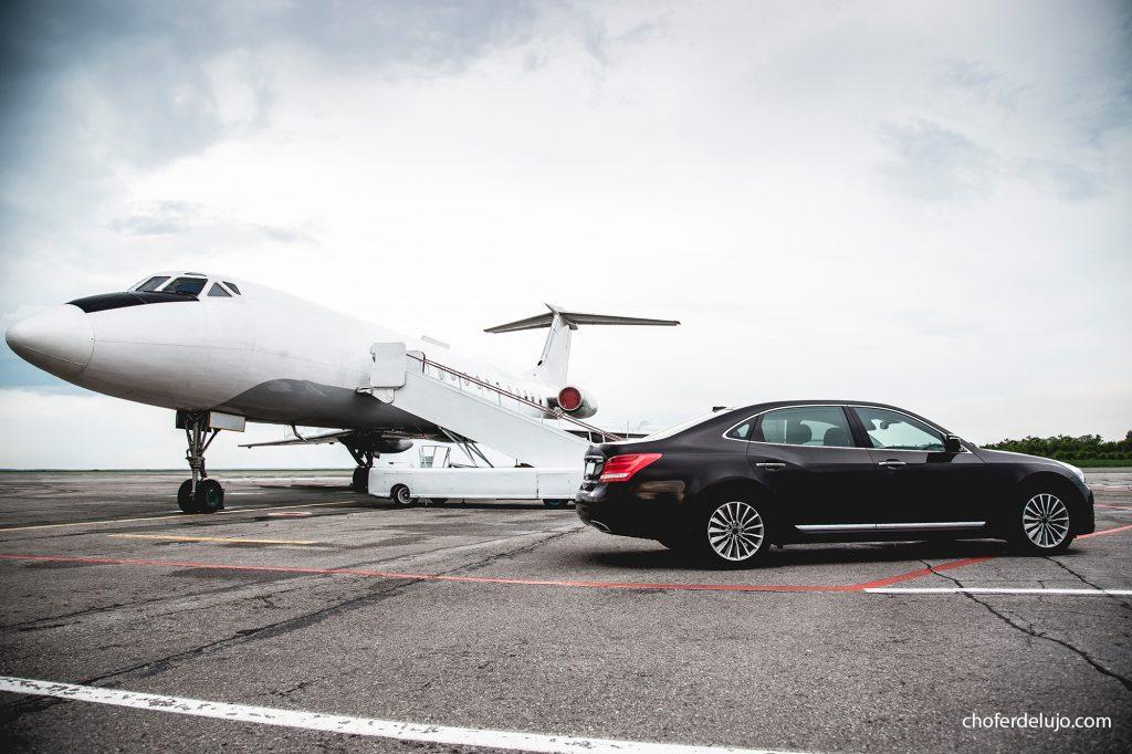 coche con conductor al aeropuerto