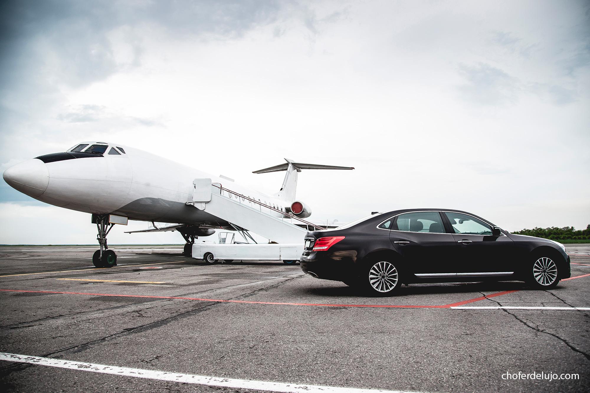 transfer de lujo al aeropuerto