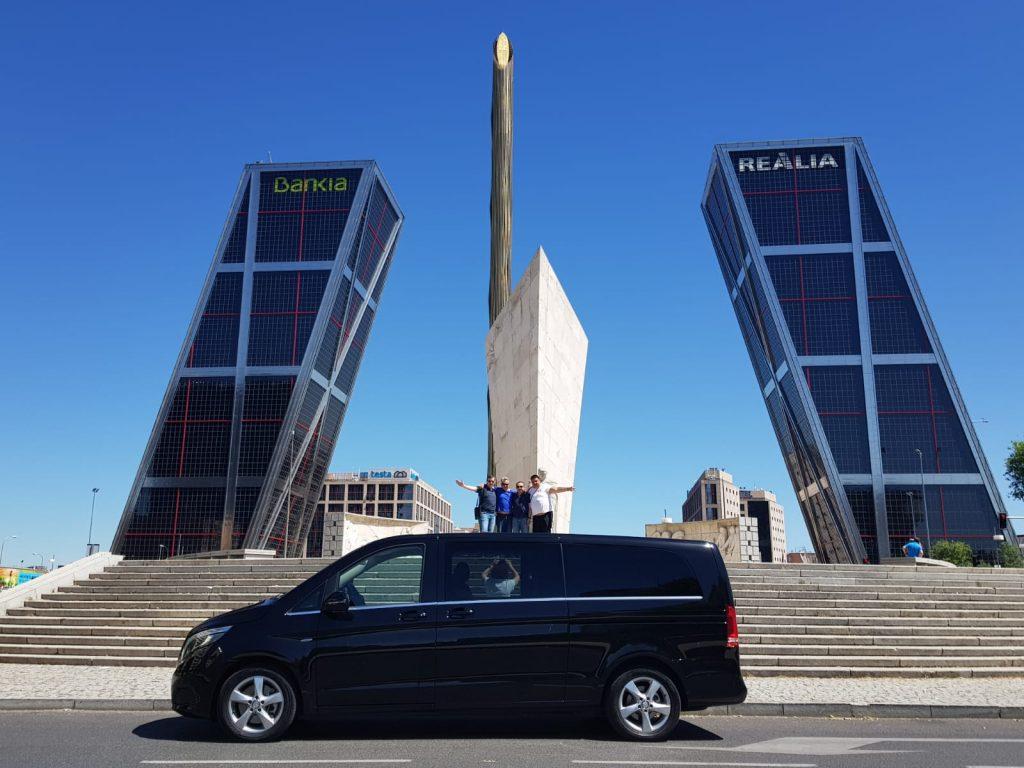 Mercedes Benz Clase V para grupos
